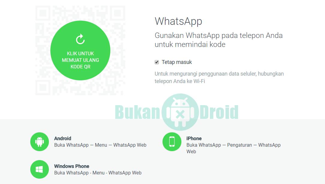 Cara Login Whatsapp Lewat Web Tanpa Diminta Scan Barcode Cara Membuka Whatsapp Dikomputer Pc Laptop Web Keren Tips Trik 2 Cara Login Aplikasi Android Tips