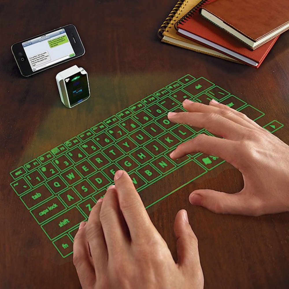 Cool Gifts Gadgets For The Tech Lover On Your Christmas List Gadget Gifts Virtual Keyboard New Technology Gadgets