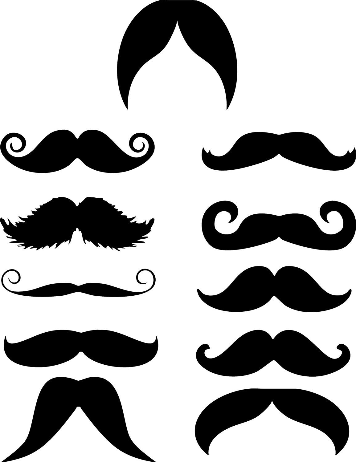 11 funny mustache moustache vinyl decal sticker perfect 4 cell