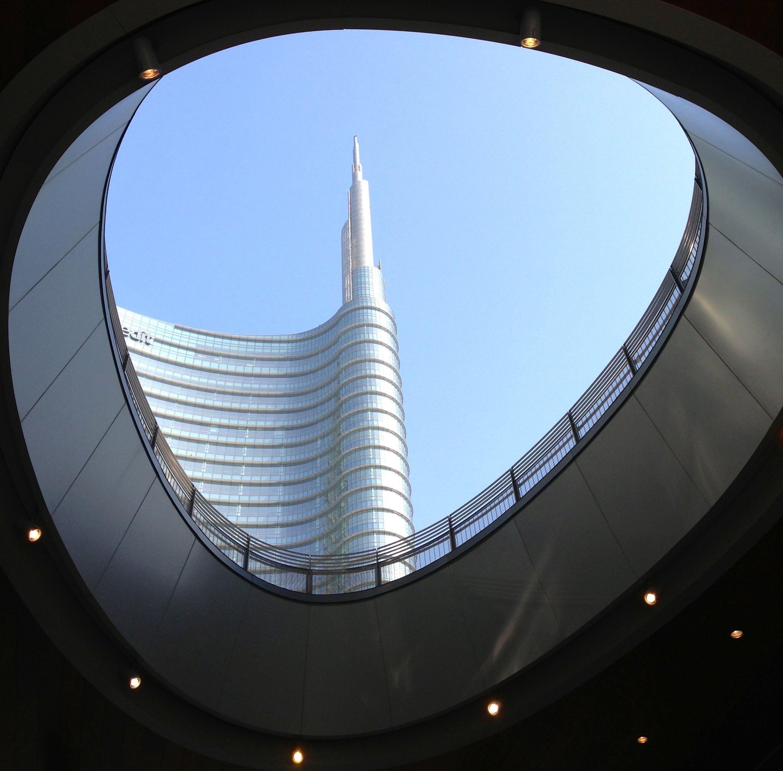 La mia nuova Milano Piazza Gae Aulenti foto 180° di Sergio Curadi Naumann My MILANO