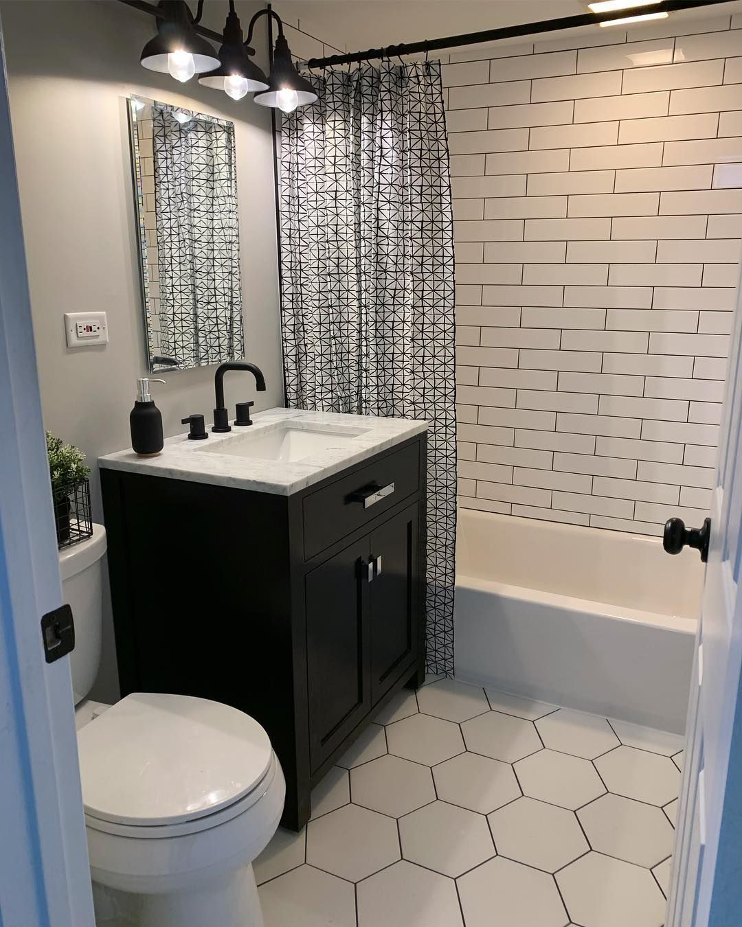 Kelsey Sears On Instagram My Bathroom Project Is Almost Complete I Love It So Much I Could Cry 1 Down 1 To Go Bathroom House Bathroom Farmhouse Bathroom