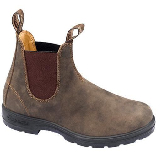 Blundstone Super 550 Series Boot Rustic Brown (Australian 4 (US Wms 7) M  (Regular)) | Active wear, Shoes outlet and Brown
