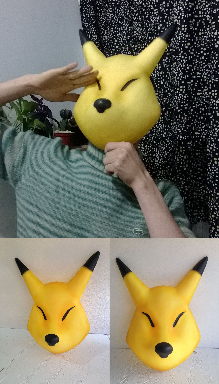 hi guys. I make Keaton mask in Legend of Zelda Majora's mask. when ...