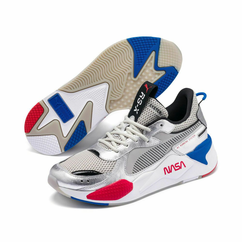 PUMA RS-X SPACE AGENCY Silver/Grey SNEAKERS 372511 01 060 ...