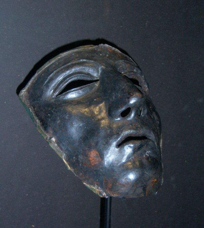 Roman Cavalry helmet mask found on the site of the Battle of Teutoburg Forest.