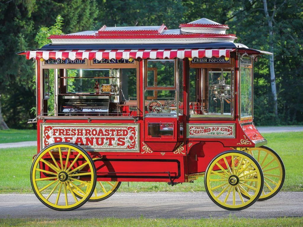1926 cretors model d popcorn wagon di 2020 dengan