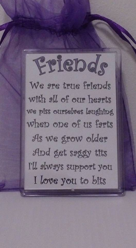 Rude Quotes For Best Friend : Best friend gift rude family funny poem by uniquewordsuk poems