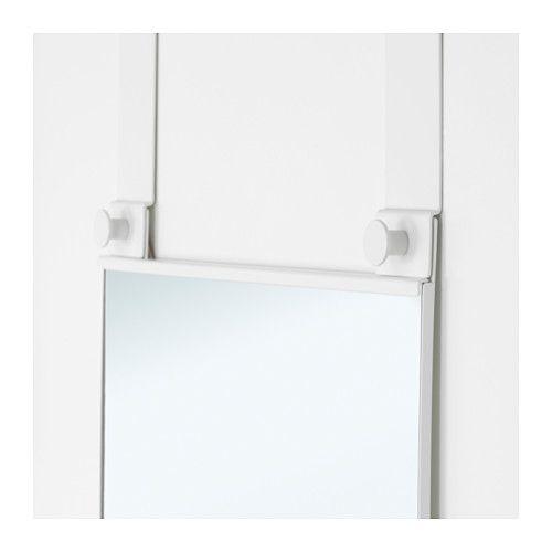 GARNES Over The Door Mirror White 38x155 Cm