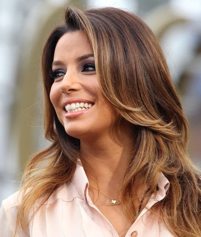 the color good hair pinterest eva longoria bayalage and hair style. Black Bedroom Furniture Sets. Home Design Ideas