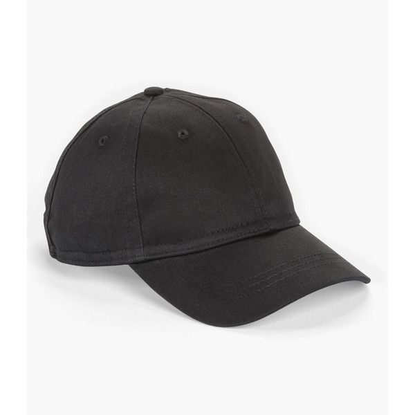abfb193a Levi's Classic Baseball Cap ($15) ❤ liked on Polyvore featuring  accessories, hats, black, ball cap, baseball caps, ball cap hats, levi hat  and adjustable ...