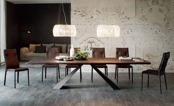 Cattelan Italia Esstisch Eliot Wood Interior Design Furniture
