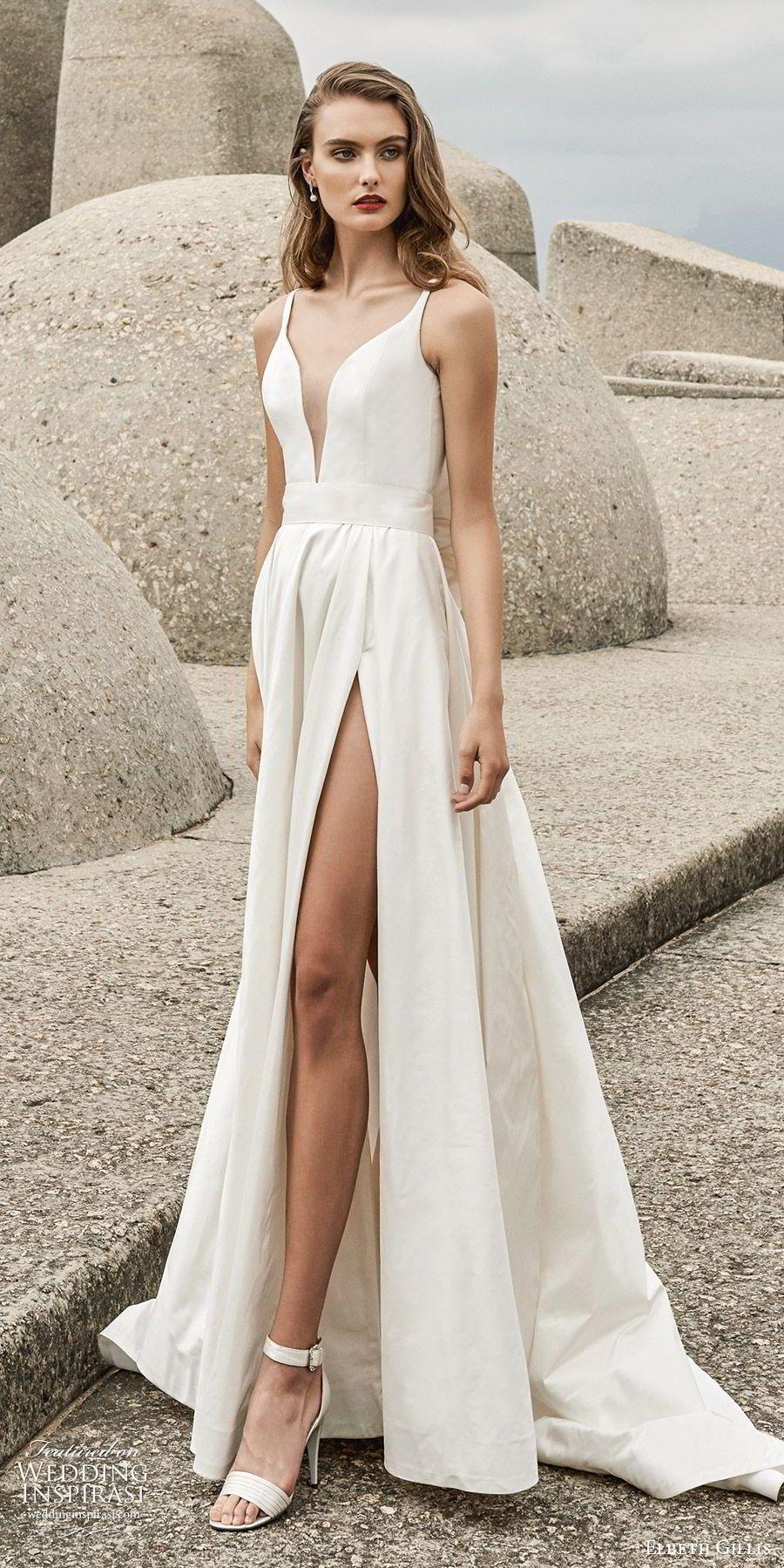 Elbeth Gillis 2020 Wedding Dresses Desire Bridal Collection Wedding Inspirasi Minimal Wedding Dress Wedding Dresses Lace Wedding Dress Trends
