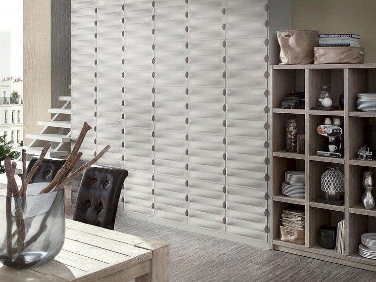 de paredes interiores estante madera troncos