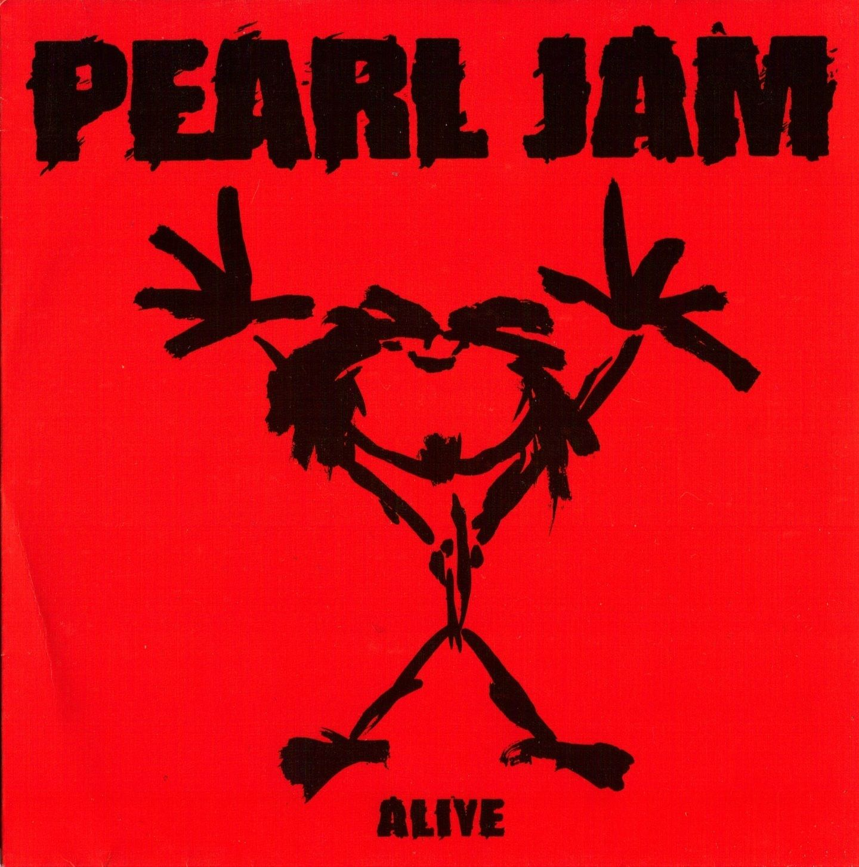 Pearl Jam – Alive (single cover art)