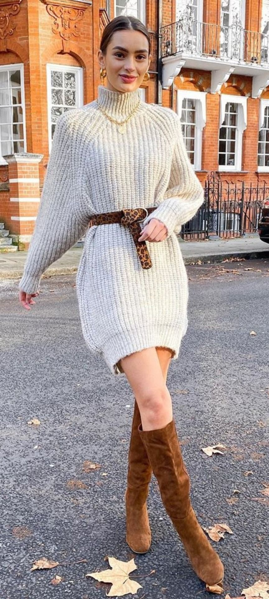 Lover Of Angora And Mohair Worn By Women Ladies Turtleneck Sweaters Beautiful Womens Sweaters Beige Sweater Dress [ 1920 x 864 Pixel ]