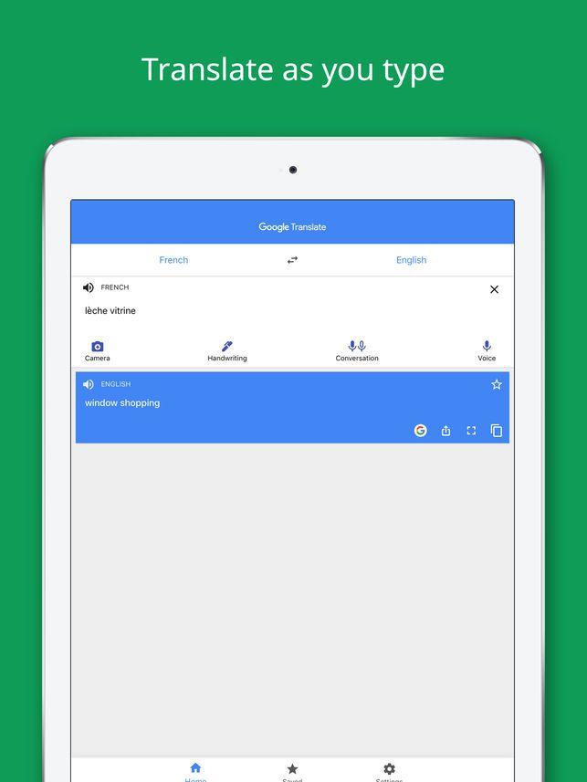 Google Translate on the App Store Google translate