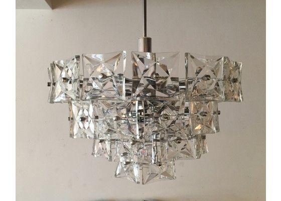 Vintage crystal chandelier from kinkeldey for sale at pamono vintage crystal chandelier from kinkeldey mozeypictures Gallery