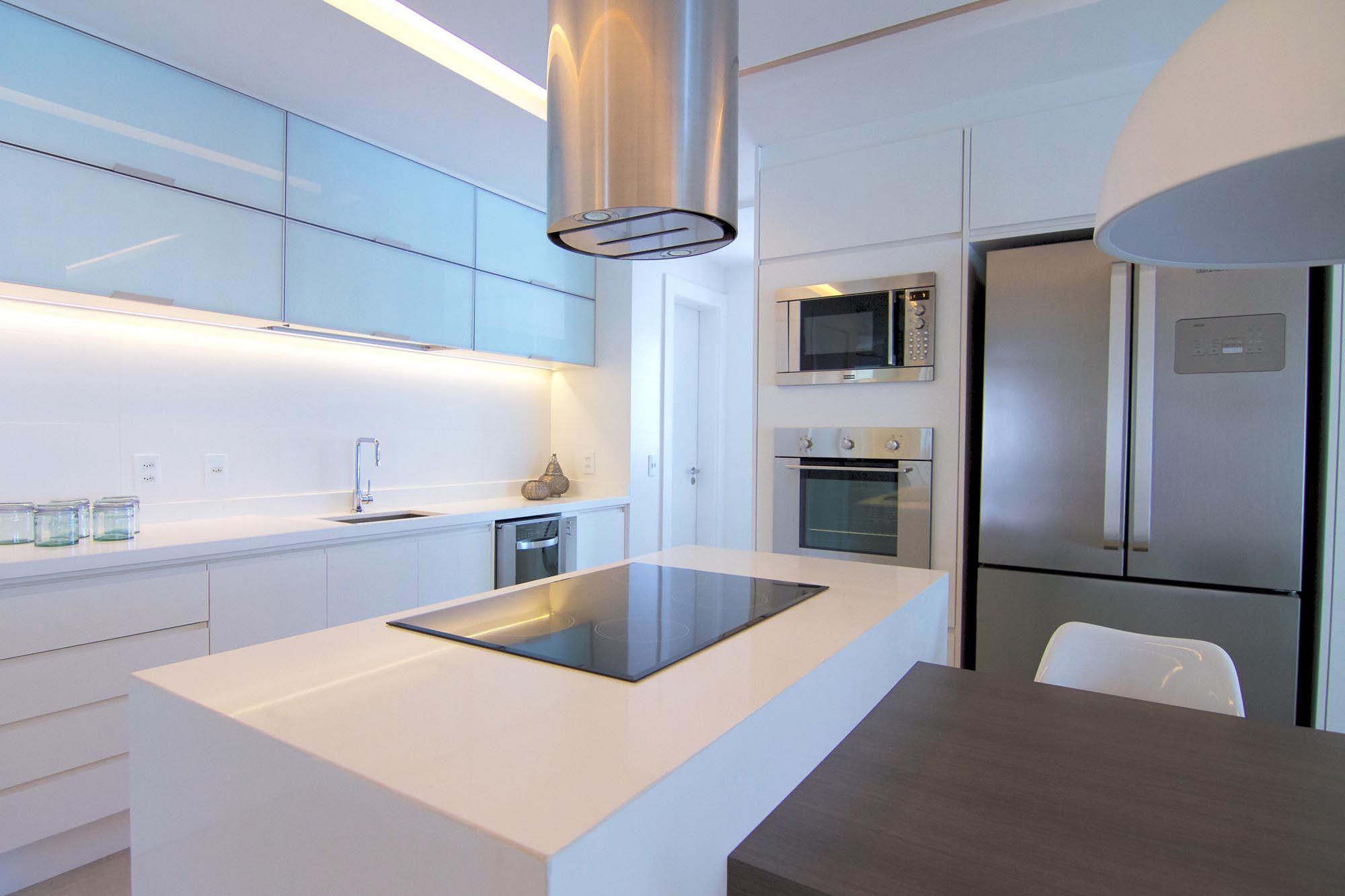 Marmoluz Bancada Em Silestone Branco Zeus Belas Cozinhas