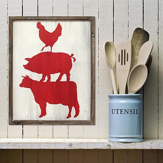 """Description:Stratton Home Decor Cow Pig & Rooster Wall Art will leave your walls with a charming, farmhouse feel. Display it in a rustic-style home as a fun accent piece. Care instructions: Wipe clean with damp cloth.Features:Weight: 1.63 lbs. Item Dimensions: 1""""D x 16""""W x 20""""HMaterial: 100% MDF. Color: Multi.Hanging type: Attached D rings.Country of origin: China.Hand crafted: Yes.Model No:1677-S01990"""