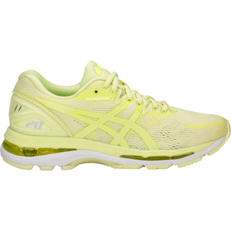 Asics Women's GEL-Nimbus 20 Running Shoes, Yellow | Asics ...