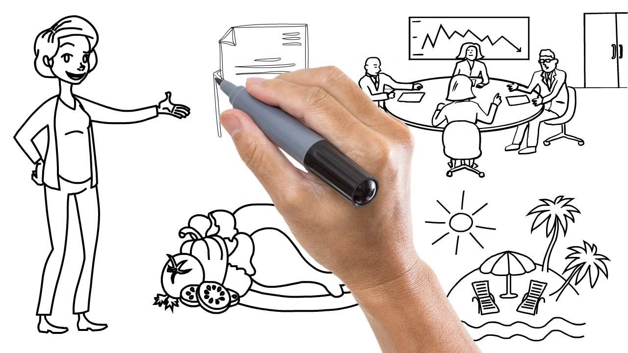 Whiteboard SVG Graphics YouTube Fiverr, Animation, Graphic