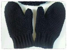 Made by Rinske: Patroon gehaakte handschoenen / wanten