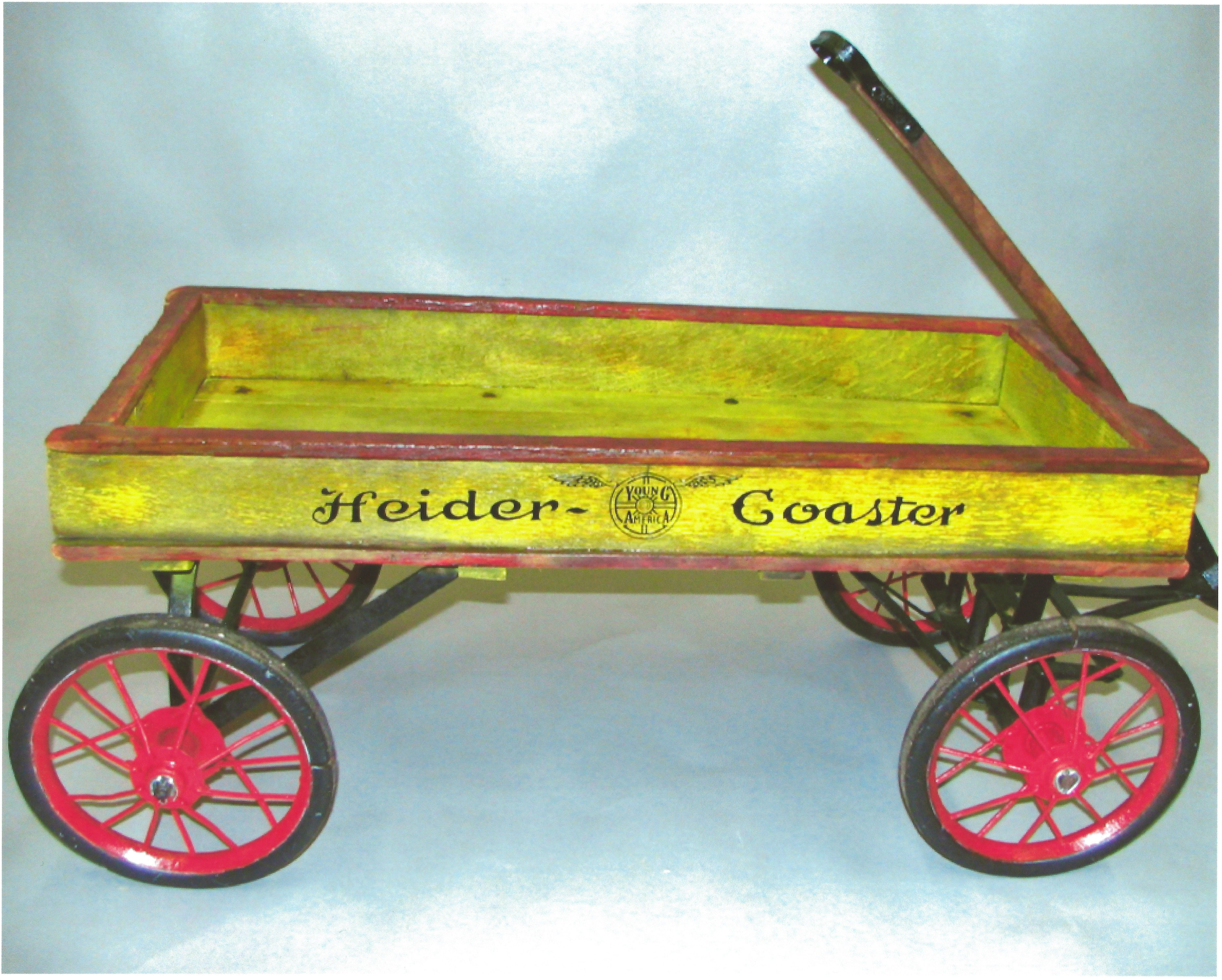 Claasic vintage toys vintage toys second shout out http www - 1920s Heider Young America Coaster Wagon Radio Flyerwagon Wheelsantique