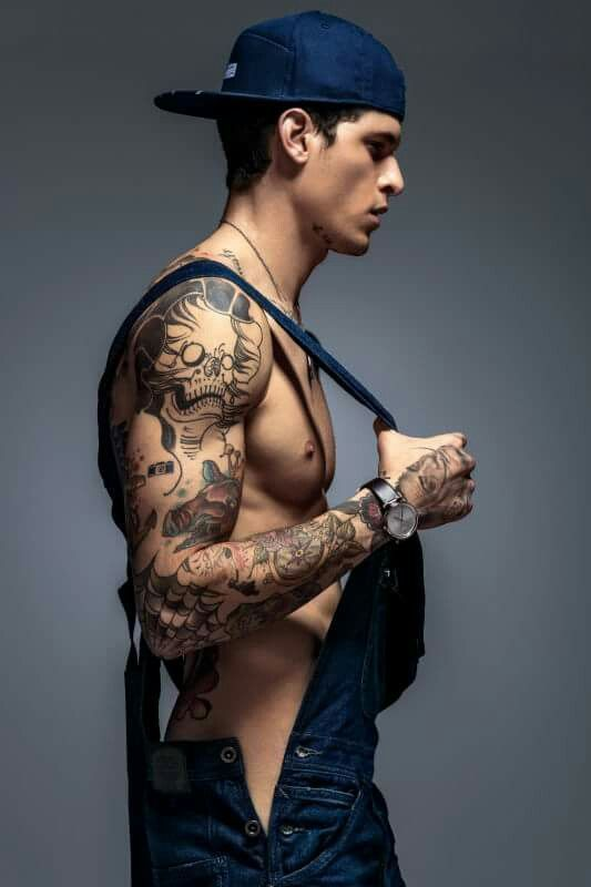 Top 10 Man Tattoo Model Tattoos For Guys Male Models Inked Men