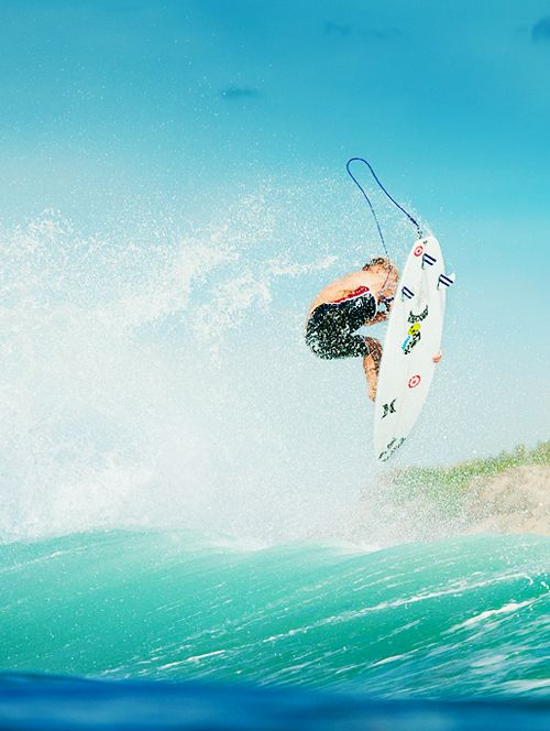 Kolohe Andino getting air