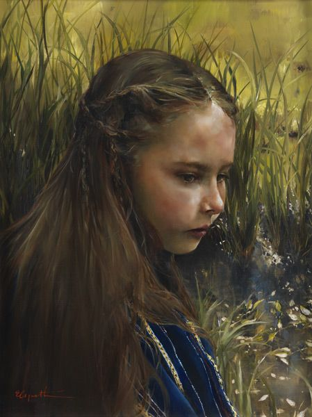 By The Rivers Brink (Miriam) by Elspeth C. Young - Copyright: All Rights Reserved - 2005
