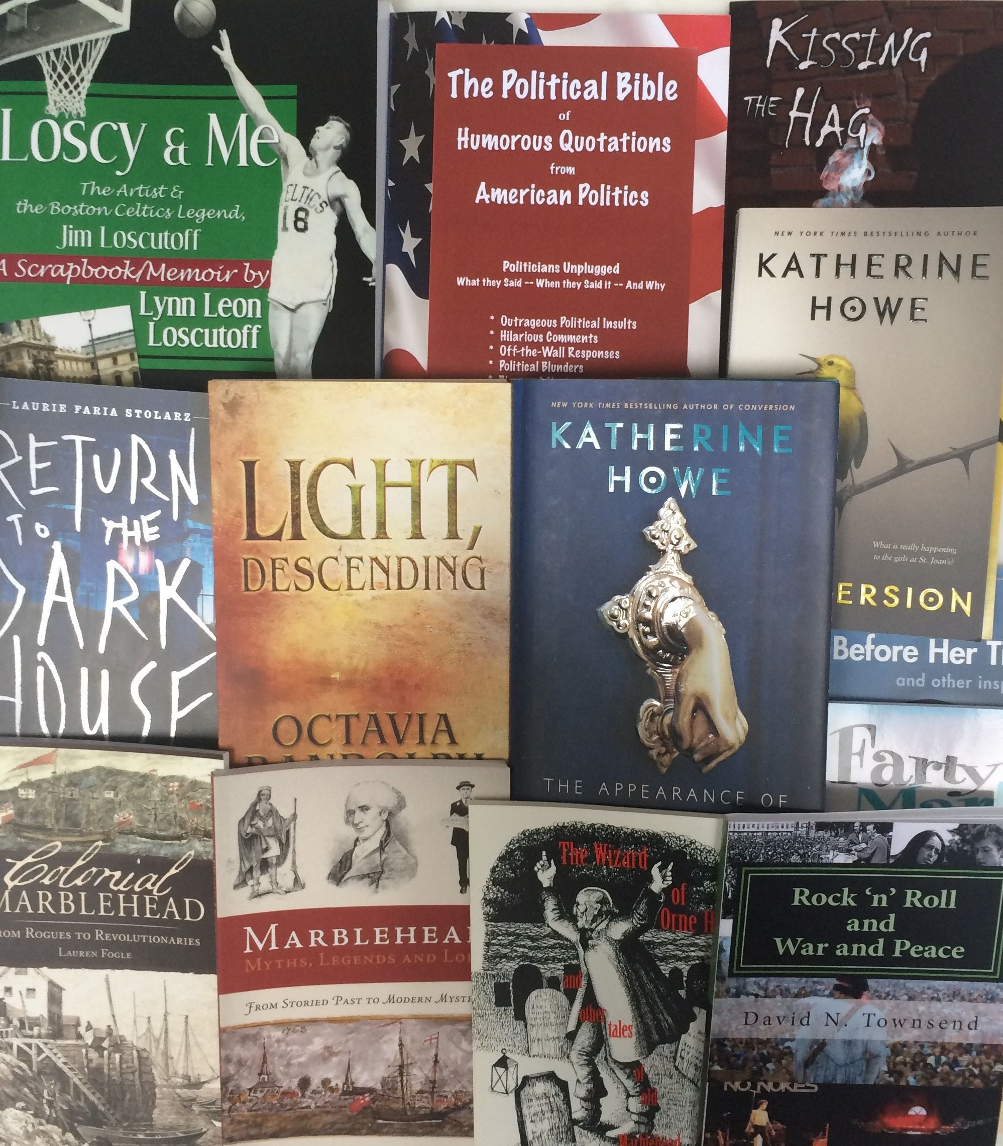 We're excited to have added a bevy of new books by local authors!    #Books #Read #Writers #Authors #Marblehead