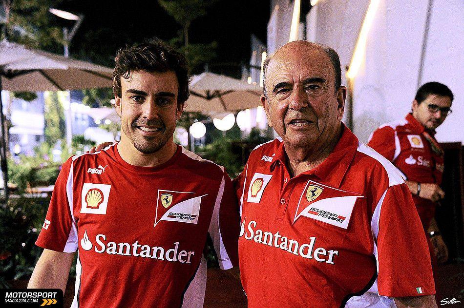 Formel 1 2012, Singapur GP, Singapur, Fernando Alonso, Ferrari, Bild: Sutton