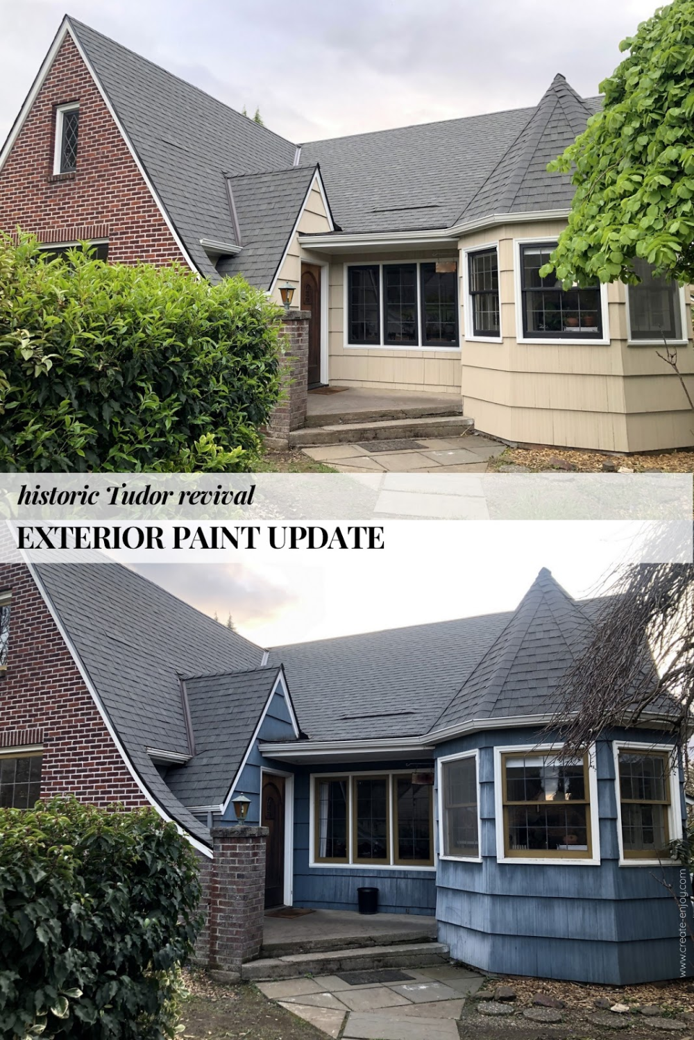 Exterior Painting Cost Scope And Finished Product In 2020 Exterior Paint Exterior Painting Trim White