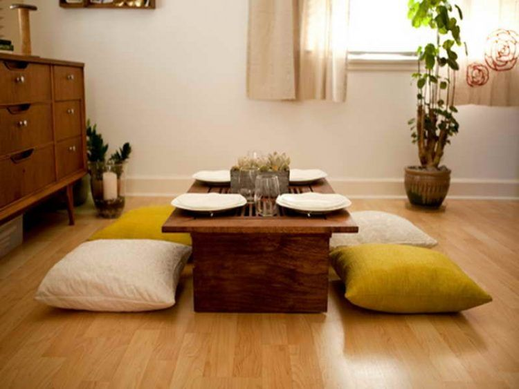 20 Trendy Japanese Dining Table Designs Dining Room Small Floor Seating Small Living Rooms