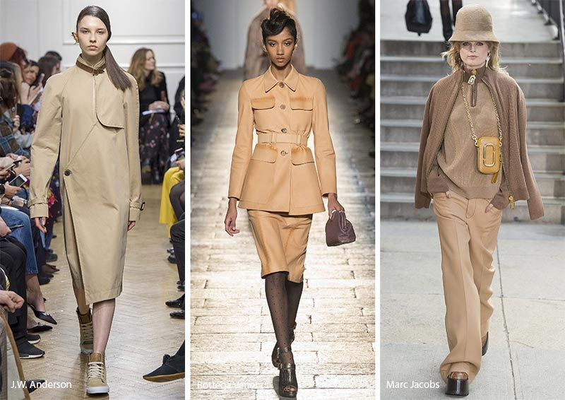 Image result for 2018 fall runway camel