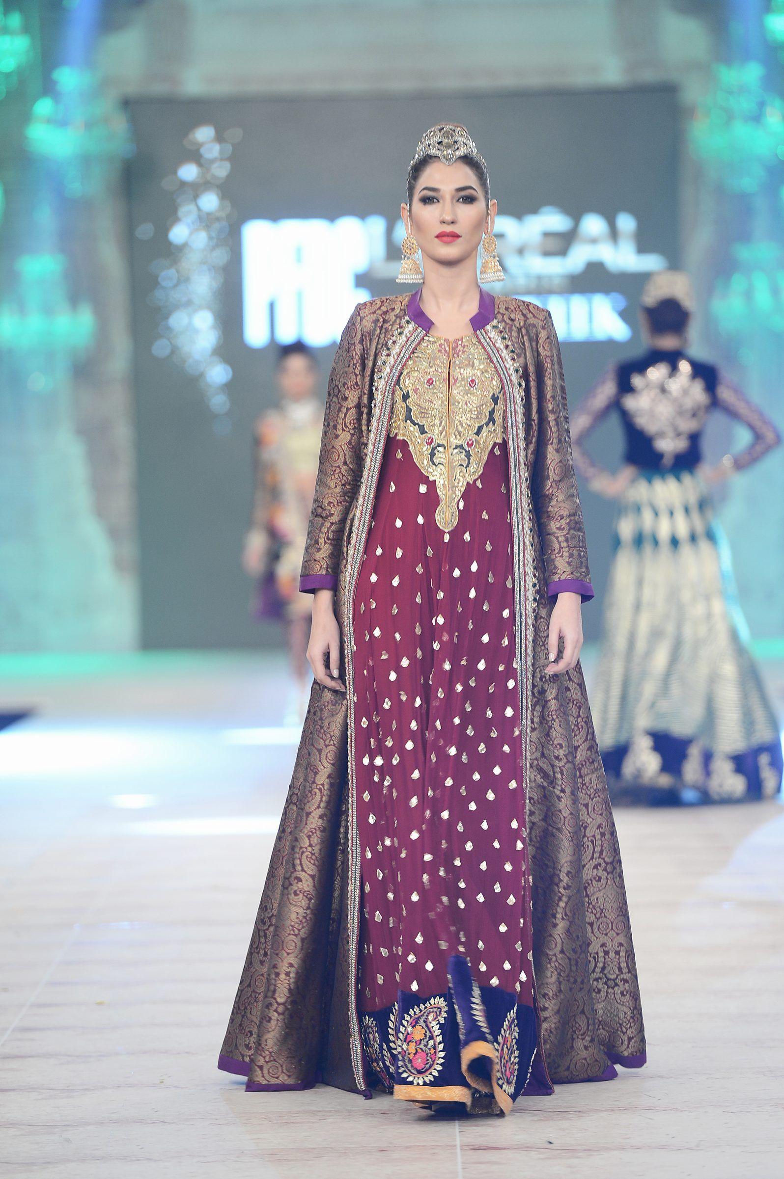PFDC L\'Oréal Paris Bridal Week 2014: Akif Mahmood   india style ...