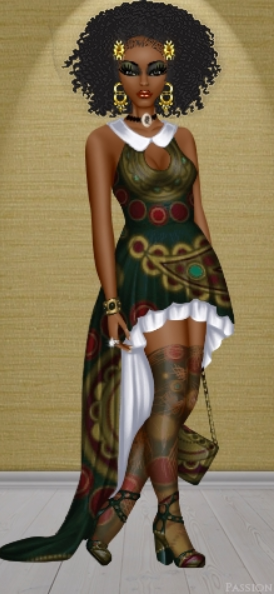 Today's Doll of the Day is jacroc1999! This Diva is #exotic with such #dark and…