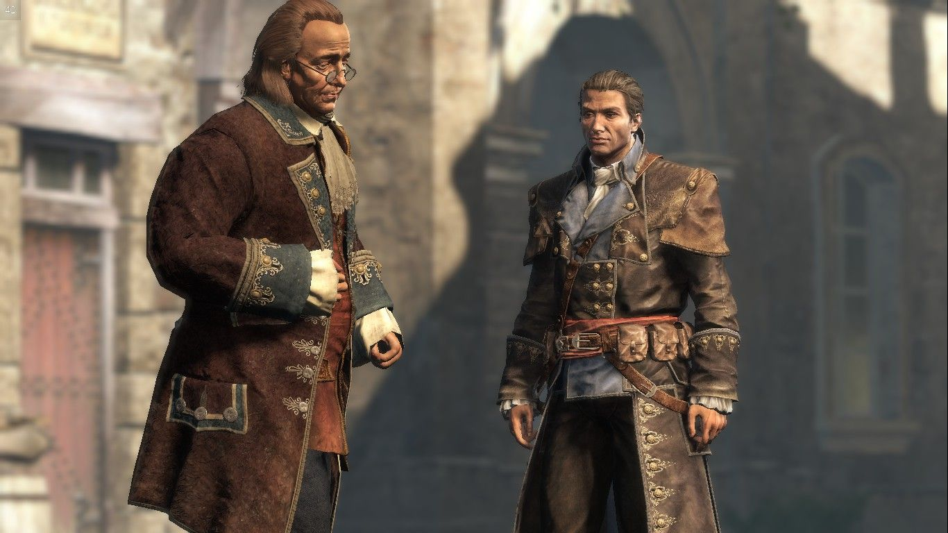 Ben Franklin and Shay Cormac in Paris (With images)   Assassins ...