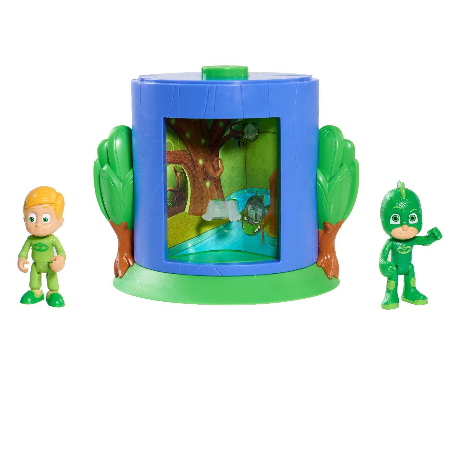 Pj masks transforming figure set gekko pj masks toys