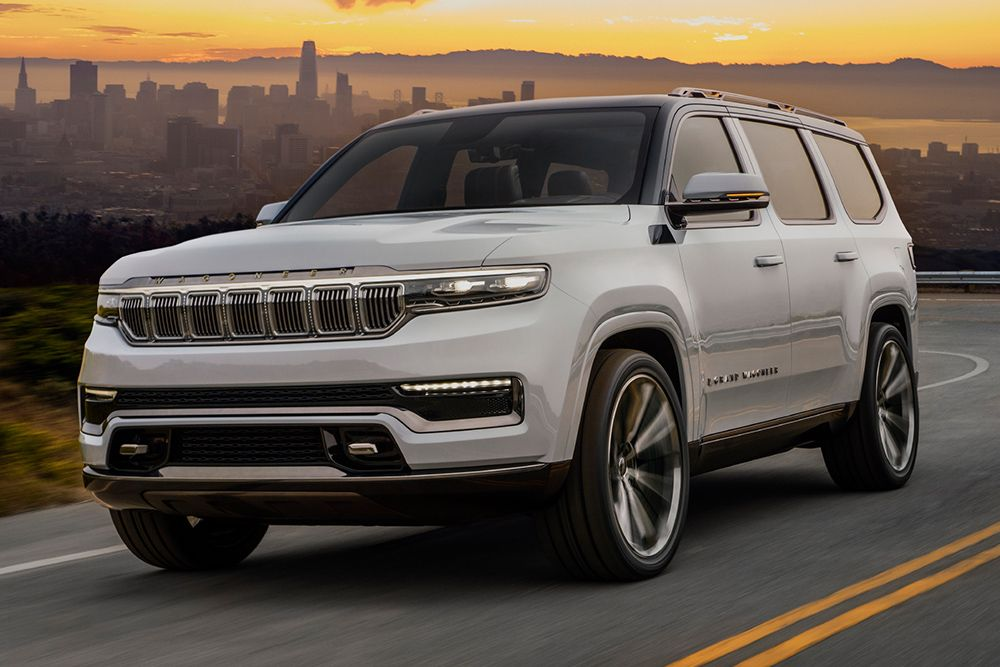 Jeep Takes Aim At The Premium Suv Market With An Ev Grand Wagoneer In 2020 Jeep Grand Suv Jeep