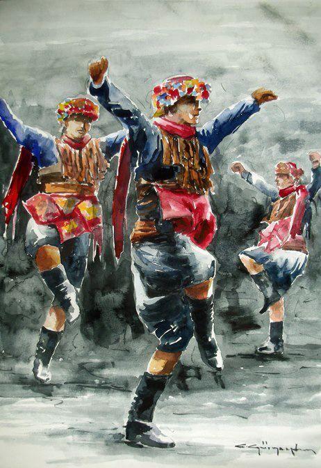 50+ en iyi Yörük, Türkmen Yağlı Boya Tabloları - Turcoman görüntüsü    tablolar, resim, resimler