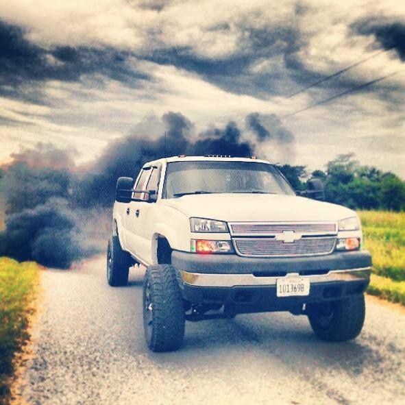 Ef B Ef Ecee F on Duramax Diesel Blowing Smoke