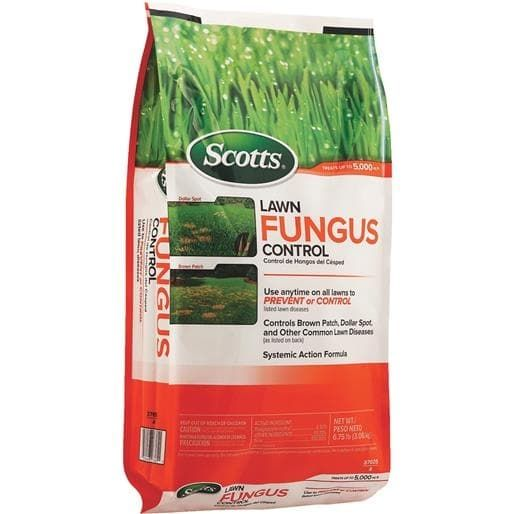 Scotts Co. 5M Lawn Fungus Control 37605B Unit: BAG, Brown, Gardening