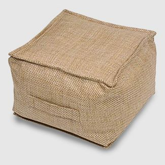 Outdoor Pouf Target With Images Outdoor Pouf Natural Weave