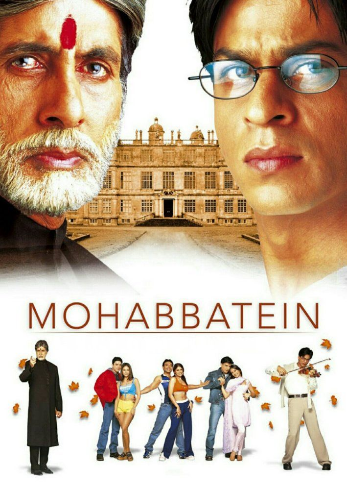 Mohabbatein 2000 Bluray Movie Free Download Full Movies Download Full Movies Online Free Best Bollywood Movies