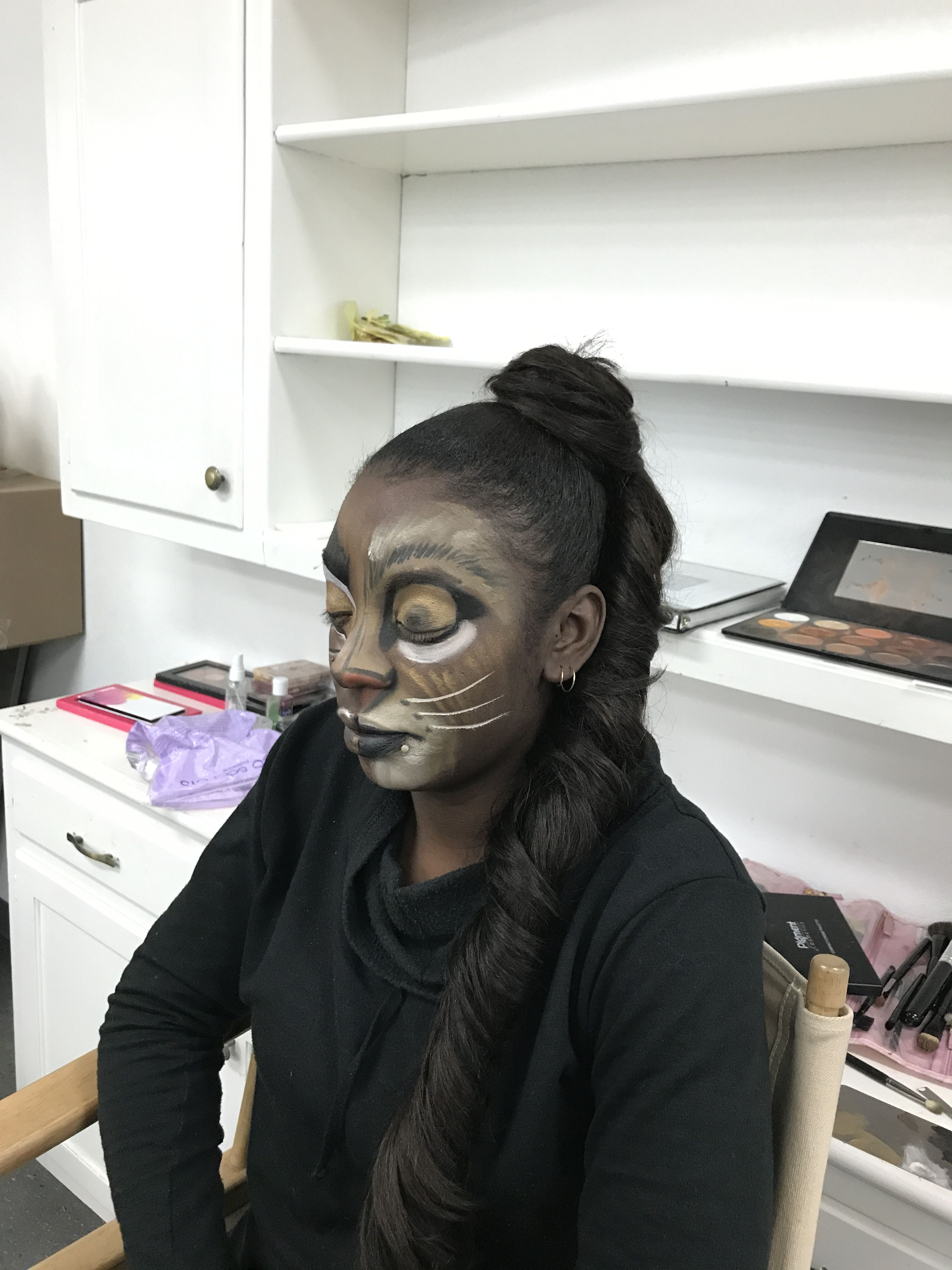 Lion Demo by Shanna of Style by Shanna for Stage Makeup at