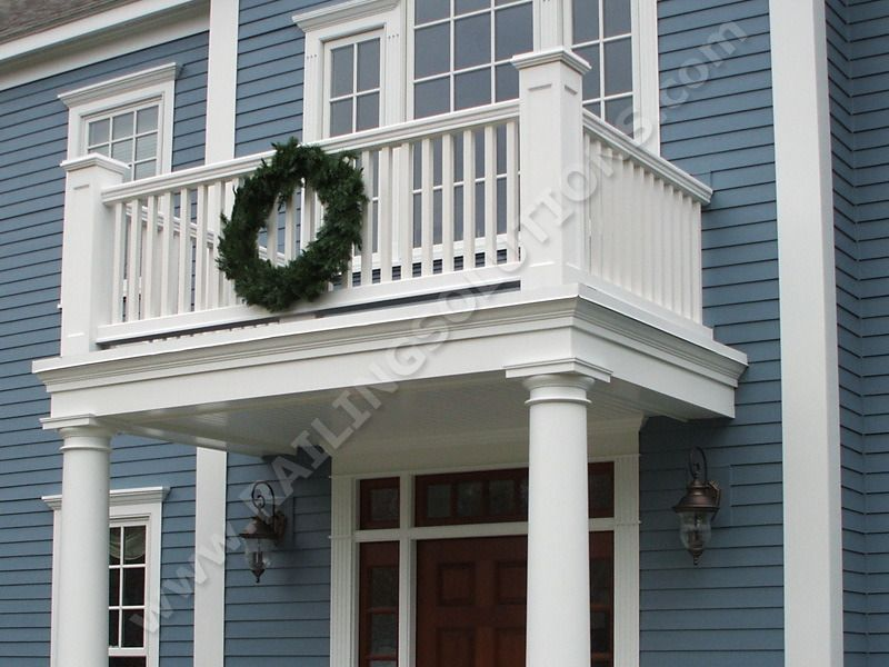 Front Elevation Without Balcony : Railing solutions designs and builds premium