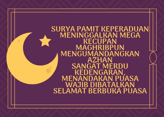 Kata Motivasi Ramadhan 2021 Cahunit Com