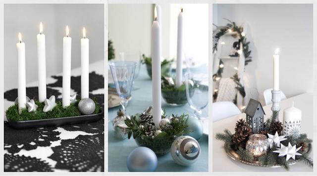 10 ideas para una mesa de navidad elegante navidad for Mesa de navidad elegante