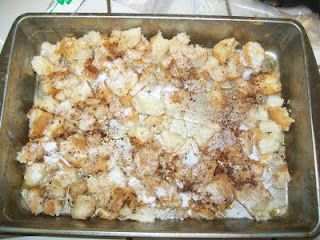 Blissful and Domestic: Homemade Freezer Croutons